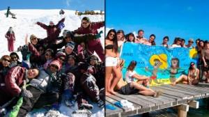 ¿Viaje de egresados en la playa? Bariloche es tan caro como viajar a Cancún
