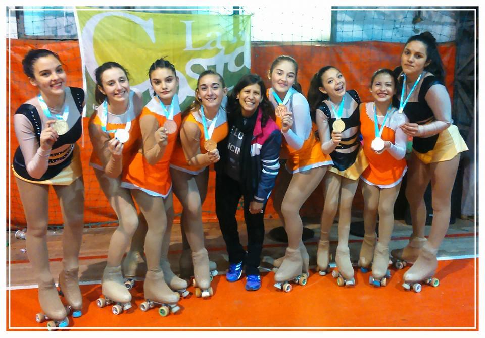 Patinadoras de La Costa clasificaron al Campeonato Argentino