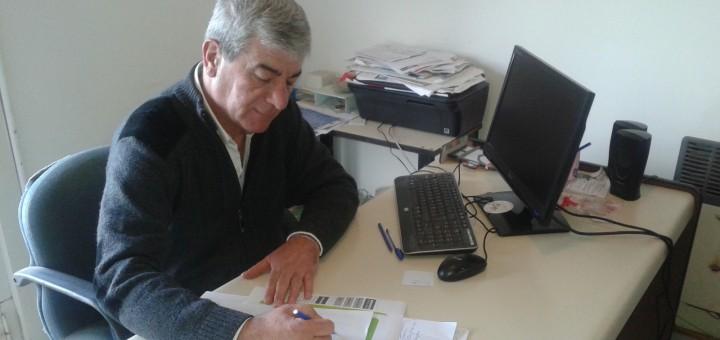 El INtendente Costero,realiza gestiones para el fortalecimiento de la actividad pesquera