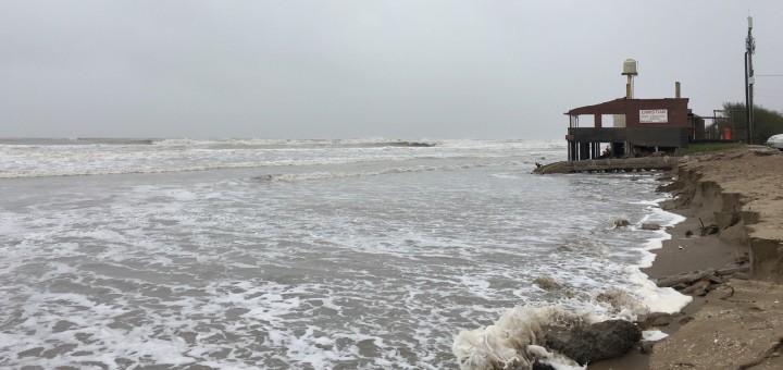 Desarrollo Social local, brindó material para las viviendas afectadas por el temporal