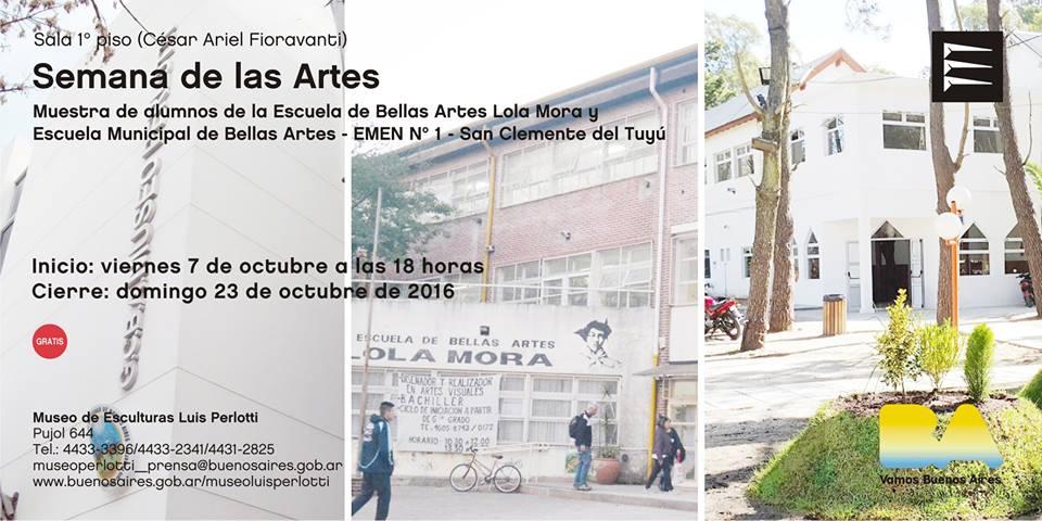 La Escuela Municipal de Bellas Artes expondrá en un Museo de Buenos Aires
