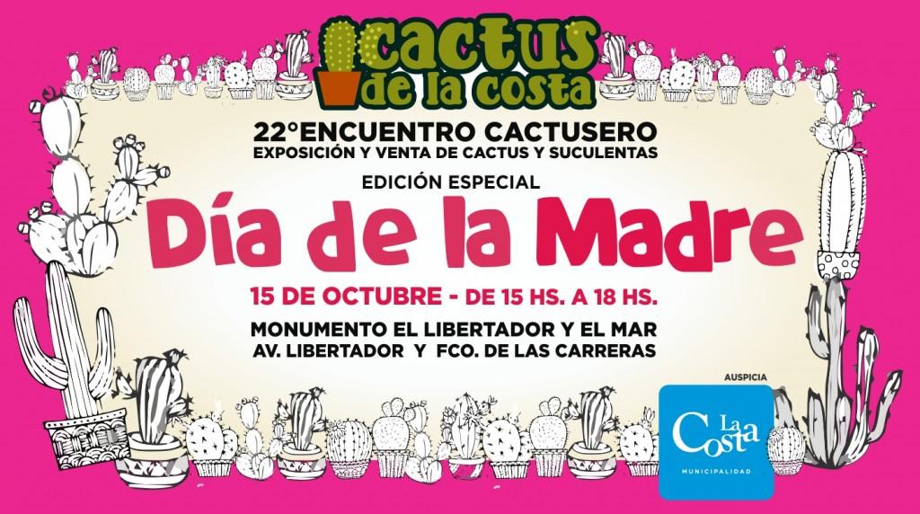 Los Encuentros Cactuseros celebran el Día de la Madre en Mar de Ajó