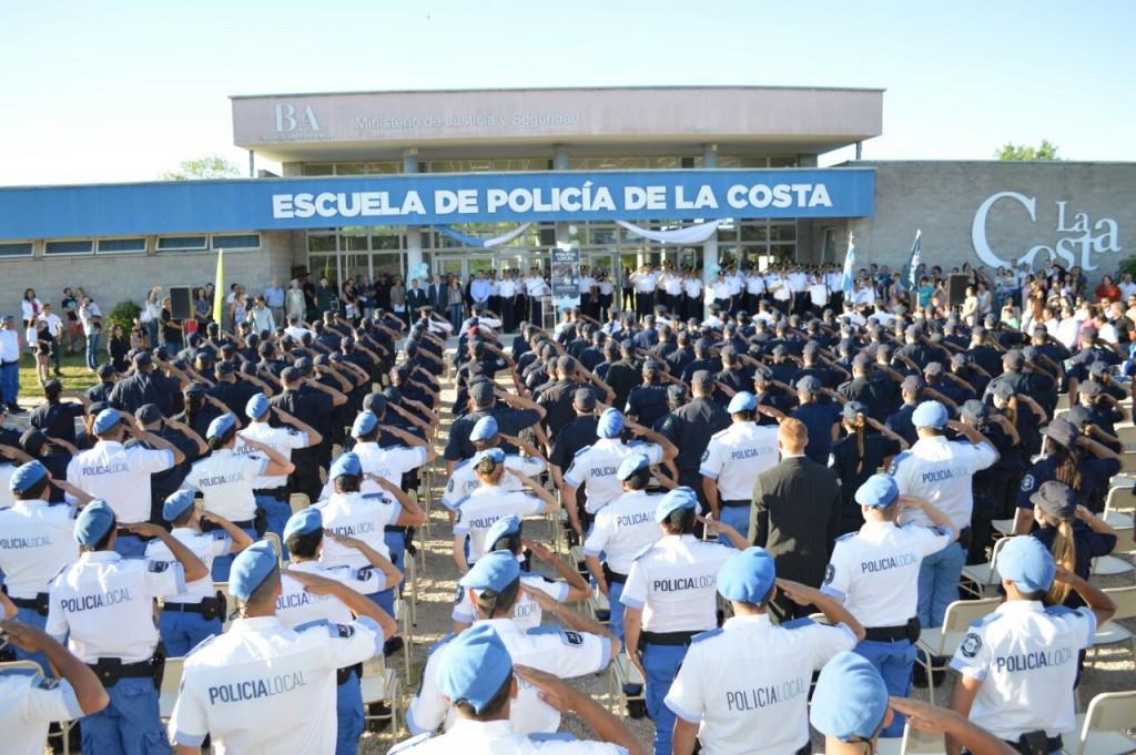 Se realizó en La Costa un reconocimiento regional a efectivos de la Policía Bonaerense