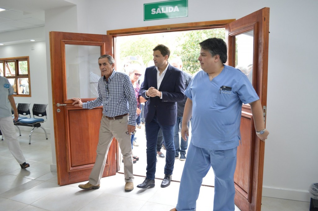 El Intendente Costero inauguró la nueva guardia del Hospital de Mar de Ajó y el Triage