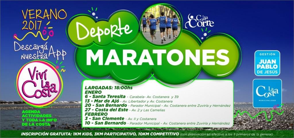 Este viernes comienza en Santa Teresita el Circuito de Maratones La Costa Corre