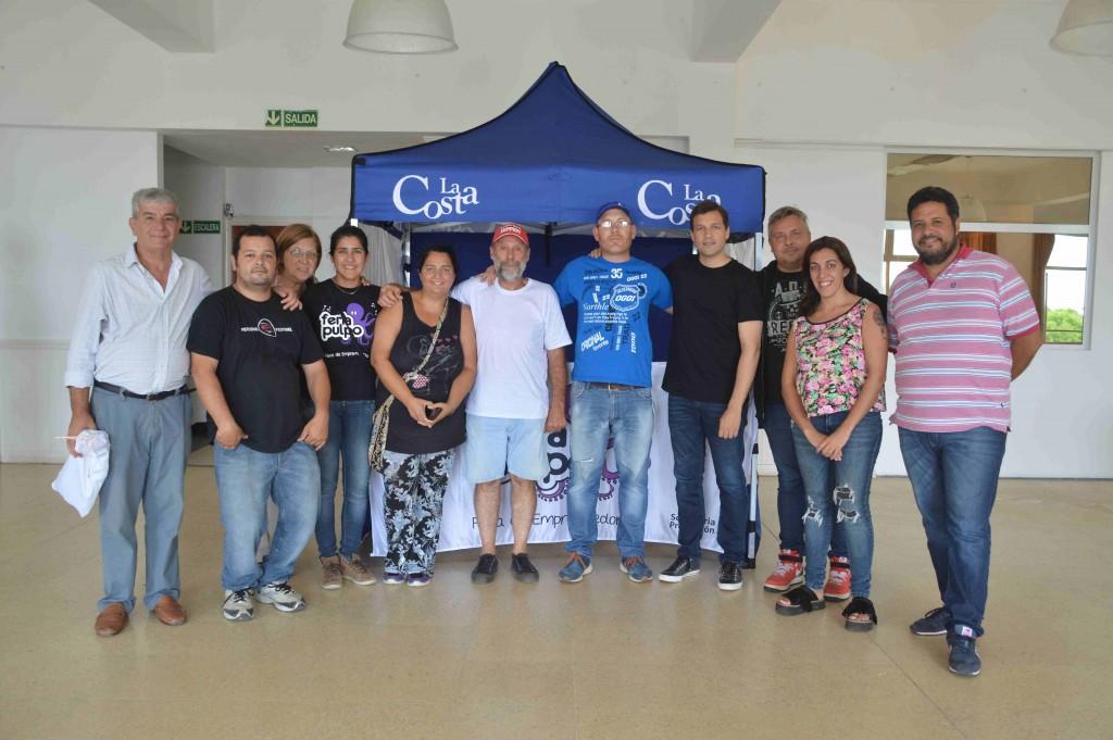 El Intendente Costero se reunió con los emprendedores de la Feria Pulpo
