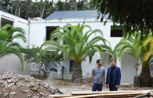El Intendente Costero recorrió las obras de ampliación de la Escuela Municipal de Bellas Artes