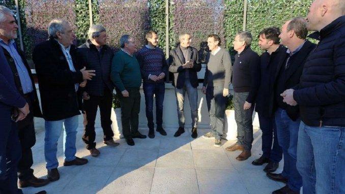 Los  Intendentes que apoyan a Randazzo en las PASO