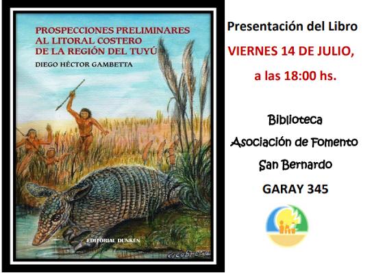 Se presenta en San Bernardo un libro sobre la prehistoria en tierras costeras