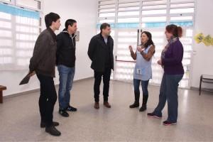El Intendente Costero visitó el Jardín de Infantes N° 917 de San Clemente y se reunió con directivos y docentes de la institución