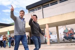 El Intendente Costero recibió la visita del Director General de Cultura y Educación de la Provincia