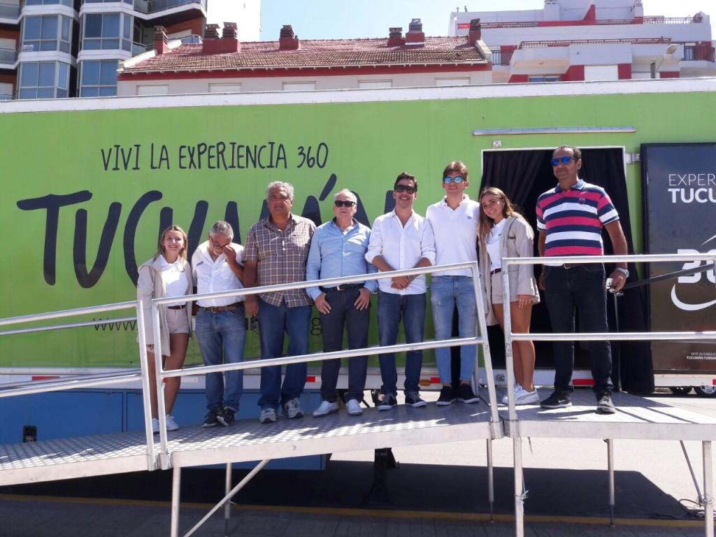 Tucumán eligió La Costa para promocionar su propuesta turística