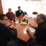 El Intendente Costero,se reunió con Veteranos de Malvinas porlaconmemoración del 2 de abril