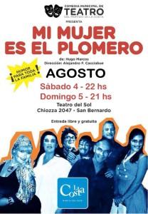 La Costa: Este sábado y domingo se presenta una obra de la Comedia Municipal de Teatro