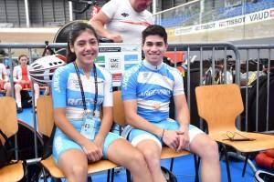 El ciclista costero Lucas Vilar inicia su participación en el Mundial Juvenil de Suiza