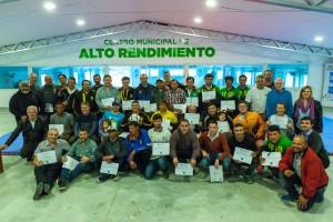 Entregaron los certificados del curso de Director Técnico de Fútbol Infanto Juvenil