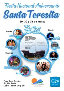 Santa Teresita celebrará su 73º aniversario con tres días en la Plaza del Niño Jesús