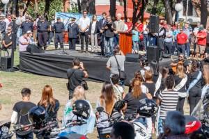 Emotivo acto en La Costa por el Día del Veterano y los Caídos en Malvinas
