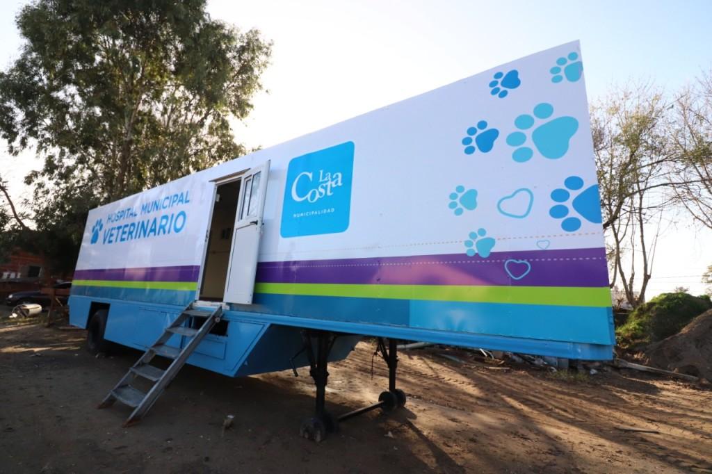 El Hospital Municipal Veterinario continúa su recorrida por las localidades de La Costa
