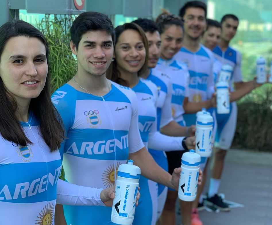 El ciclista Lucas Vilar se entrena en Río de Janeiro junto al Seleccionado Argentino para los Panamericanos de Perú