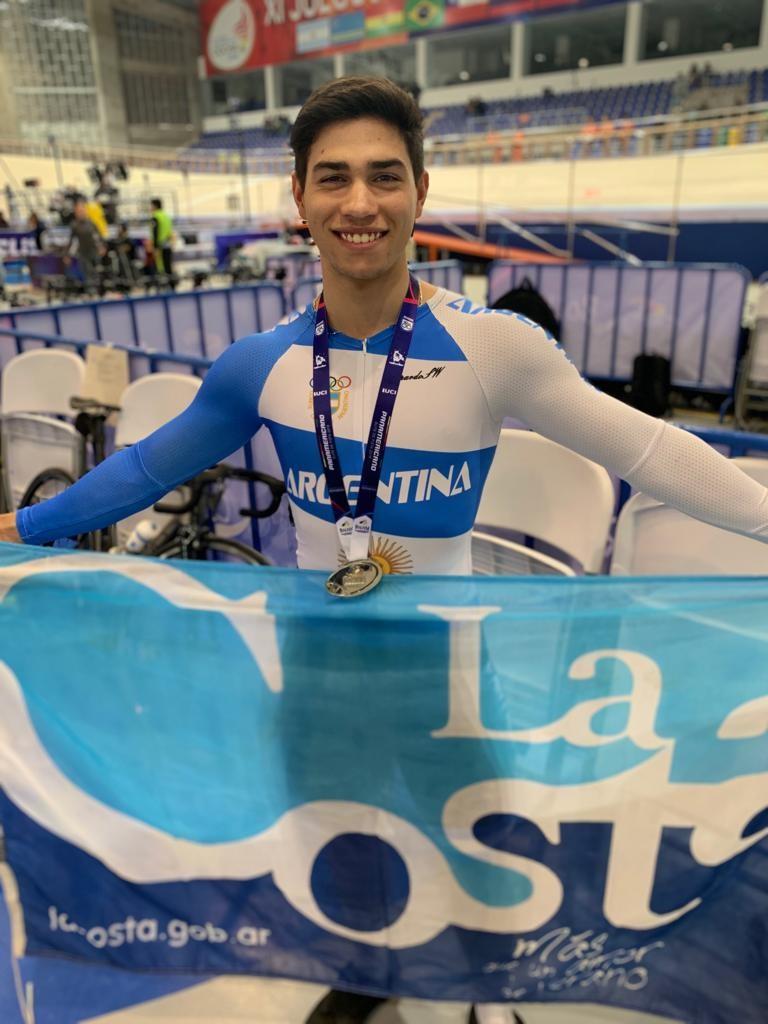 El ciclista Lucas Vilar se consagró subcampeón panamericano