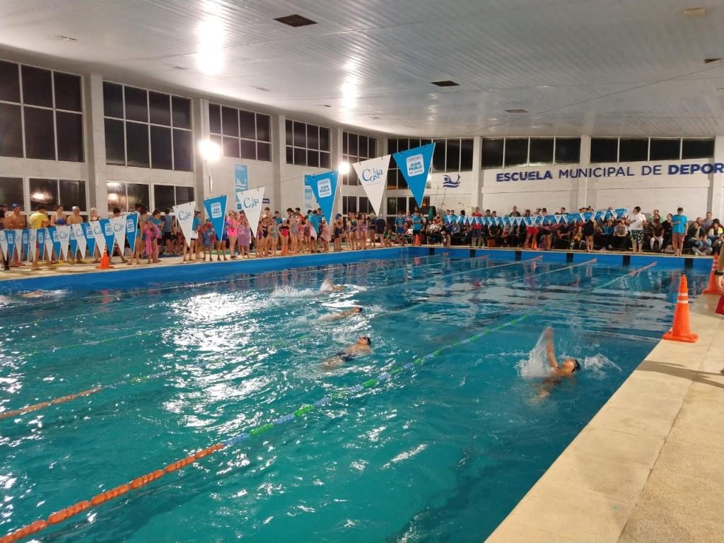 Unos 200 participantes en la 3ª fecha de la Liga Municipal de Natación