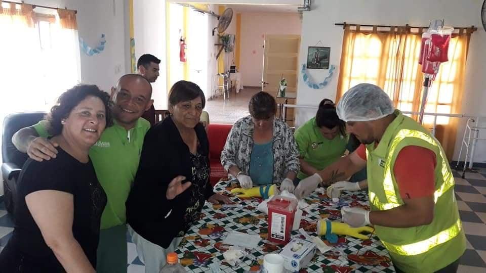 General Lavalle:El SAME brindó una capacitación a profesionales del Hospital Municipal Sagrado Corazón de Jesús