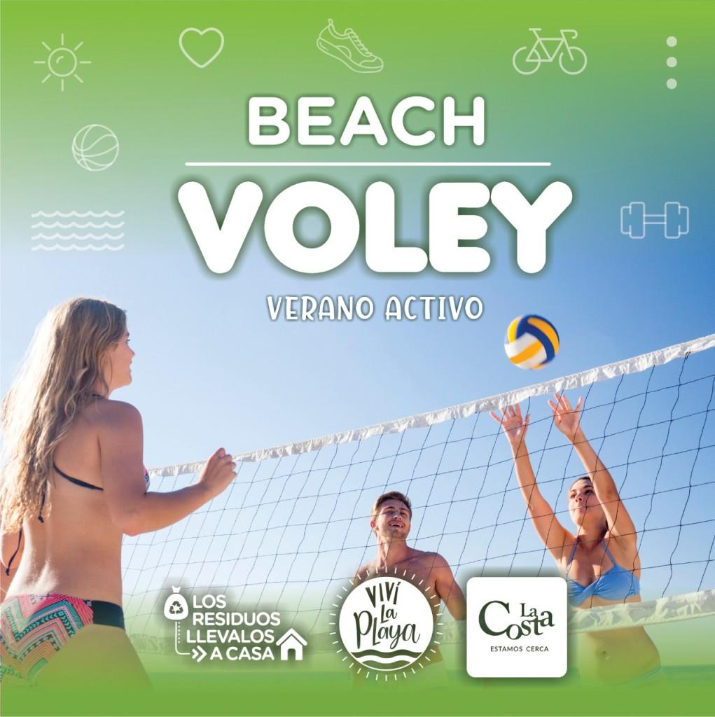 Continúa esta semana el Circuito Atlántico de Beach Vóley en La Costa