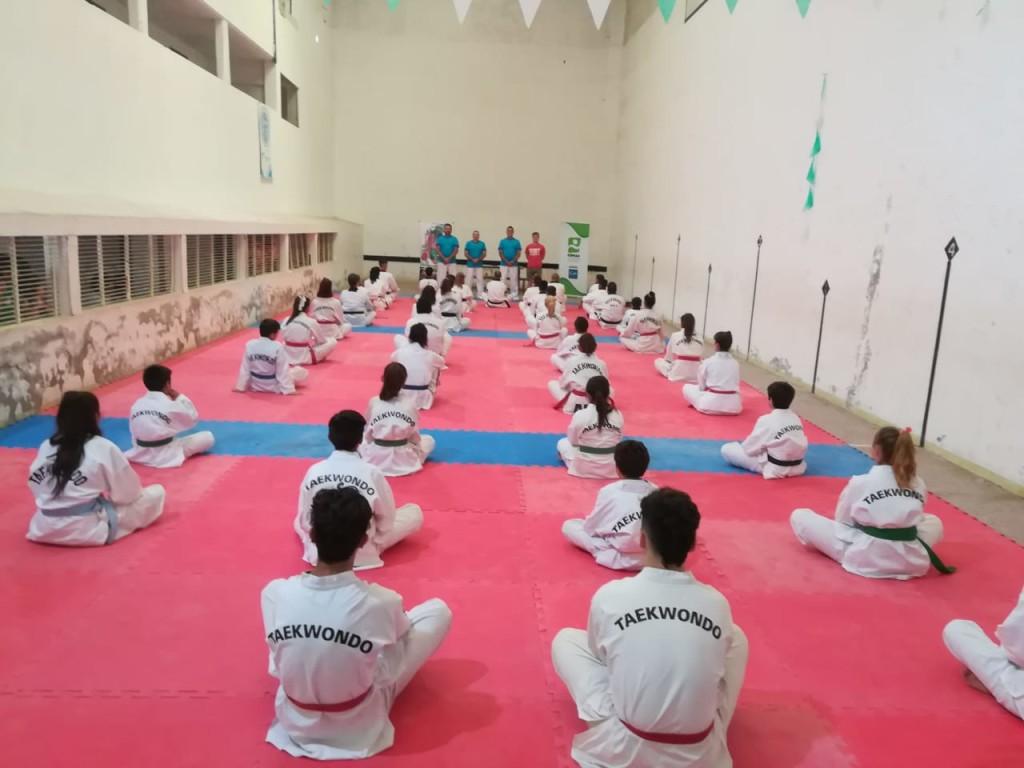 Se realizó con éxito en San Clemente un Congreso Internacional de Taekwondo