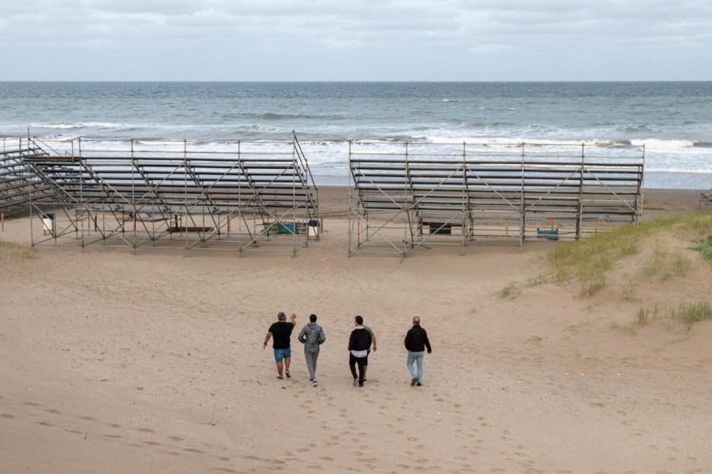 Este jueves se realiza la ceremonia inaugural de los Juegos Universitarios de Playa