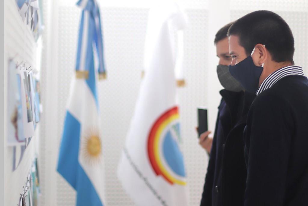 El intendente Cristian Cardozo encabezó un festejo especial del 25 de Mayo
