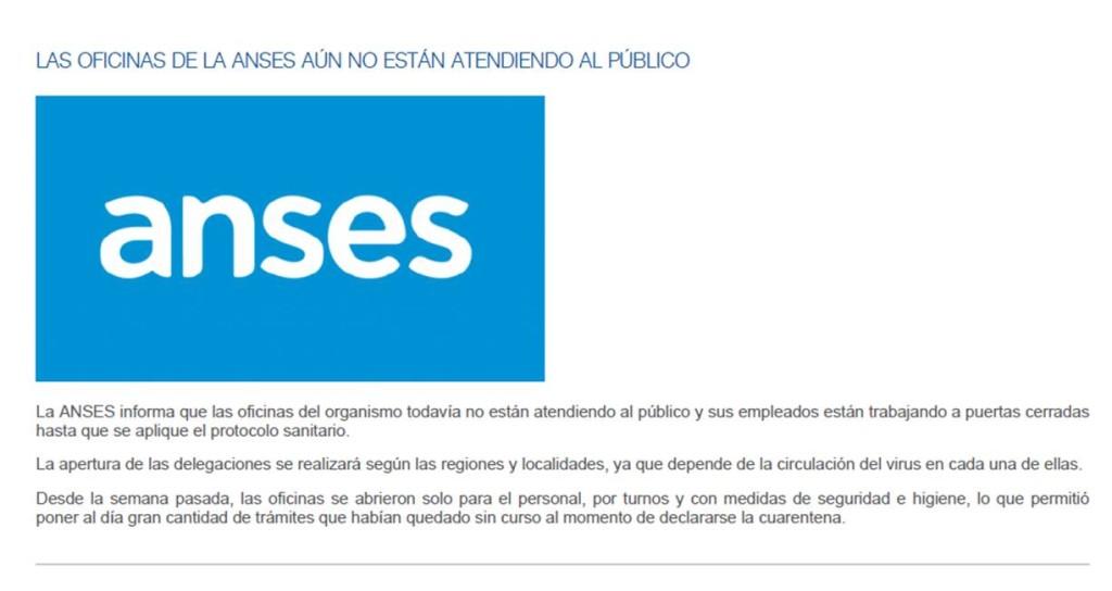 LA COSTA: NO ESTAN FUNCIONANDO TODAVÍA LA OFICINA DE LA ANSES DE SANTA TERESITA