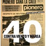 La Municipalidad saluda por su 40° aniversario al Diario Pionero