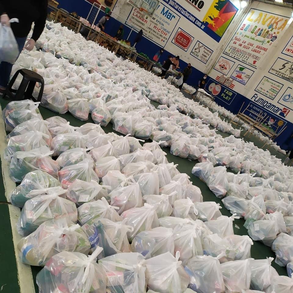 Sigue en marcha en La Costa el operativo que brinda servicio alimentario escolar en medio de la pandemia del COVID-19