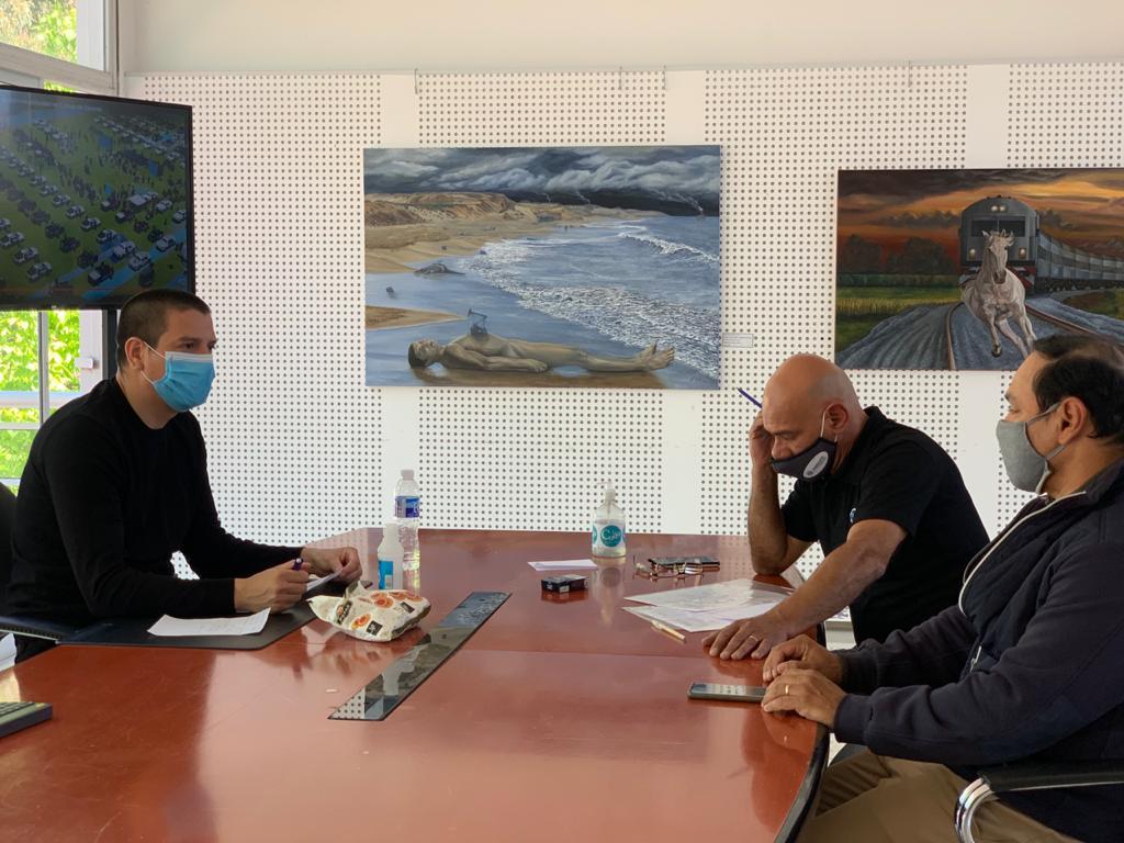 El intendente se reunió con el Sindicato de Trabajadores Municipales de La Costa