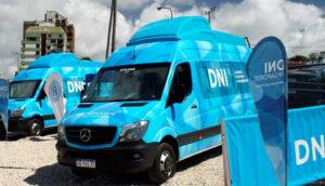 Los móviles para tramitar el DNI y Pasaporte continúan recorriendo las localidades de La Costa