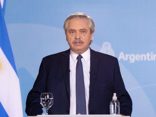 Habló Alberto Fernández, restricciones para los lugares con riesgo epidemiológico (vídeo)