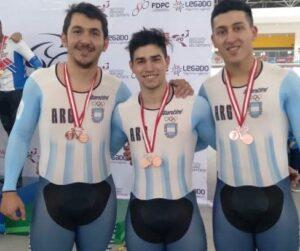 Medalla de Bronce para el ciclista costero Lucas Vilar en el Campeonato Panamericano de Pista