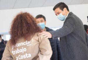 El Ministro de Desarrollo Social Daniel Arroyo,visito el partido de la Costa